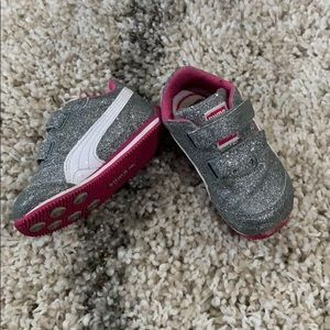 Toddler girls PUMA WHIRLWIND GLITZ V